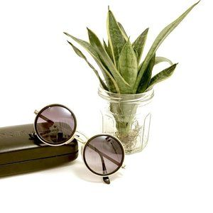 New Round Sunglasses with side shades